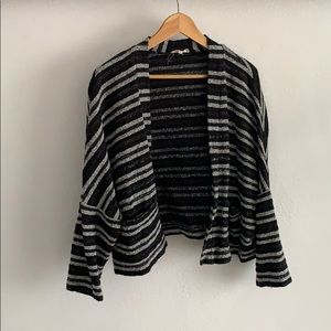 Boxy textured striped Madewell Sweater